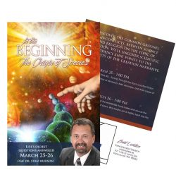 Evangelism Marketing Invitation Card - In the Beginning